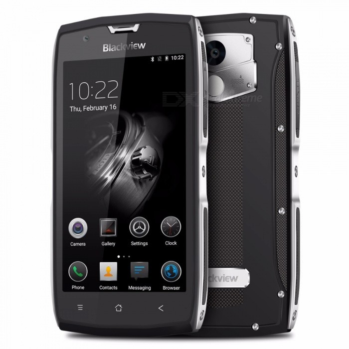 Blackview BV7000 Pro 5.0 4GB RAM + 64GB ROM 6750T 1.5GHZ EU Plug Phone Silver