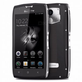 Blackview BV7000 Pro 5.0 4+64G 6750T 1.5GHZ EU Plug Phone Silver