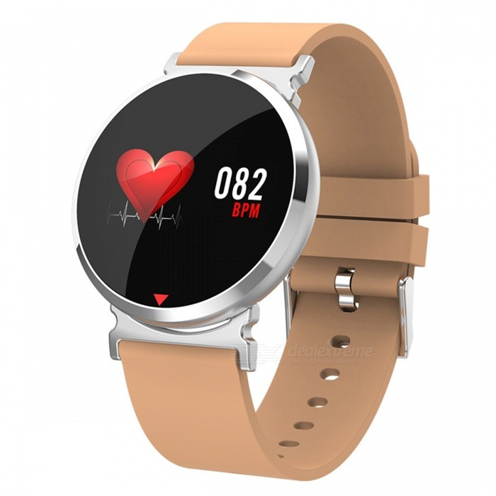 DMDG Smart Bracelet Color Screen Fitness Pedometer Calorie Sport Watch Heart Rate Blood Pressure Monitor for Android IOS-Silver