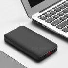 HOCO J29 Universal External Battery Double USB Charging Ultrathin 10000mAh Li-polymer Portable Power Bank Black