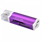 Quelima Metal Multi-function High-Speed SD TF MS M2 Card Reader