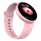 DMDG Fashion Ladies Smart Watch Bracelet Fitness Pedometer Calorie Sport Watch Physiological Cycle Remind for Android IOS-Pink