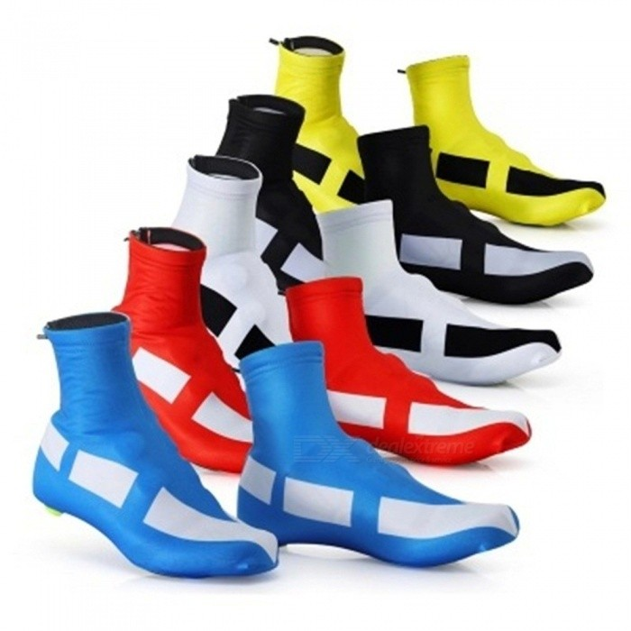 New Riding Cycling Sport Shoes Cover Thermal MTB Mountain Bike Dustproof Overshoes Protector White/M