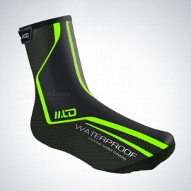 Riding Cycling Sport Shoes Cover Thermal MTB Mountain Bike Waterproof Windproof Warm Overshoes Protector Green/M