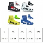 Riding Cycling Sport Shoes Cover Breathable Mountain Bike Windproof Dustproof Overshoes Protector White/L