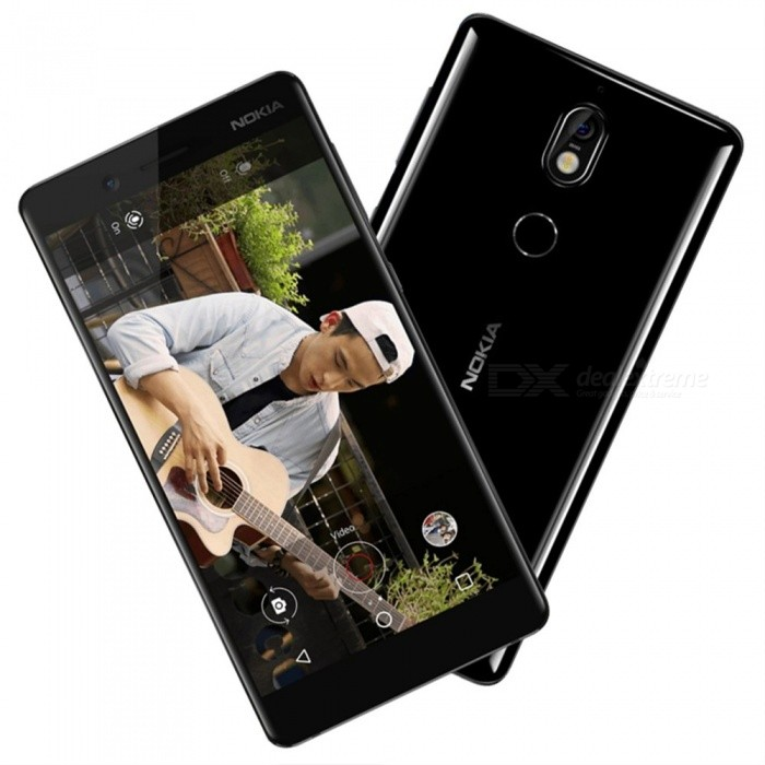 Nokia 7 5.2Inch Octa-Core 4G LTE Android 7.1 Smart Mobile Phone With 16MP Camera, Dual Sim Cards, 3000mAh Battery Black