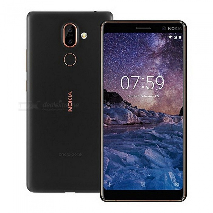 Nokia 7 Plus Android 8 Snapdragon 660 Octa-Core 6.0 Inches 18:9 Screen Mobile Phone With 3800mAh Battery, Bluetooth V5.0 White