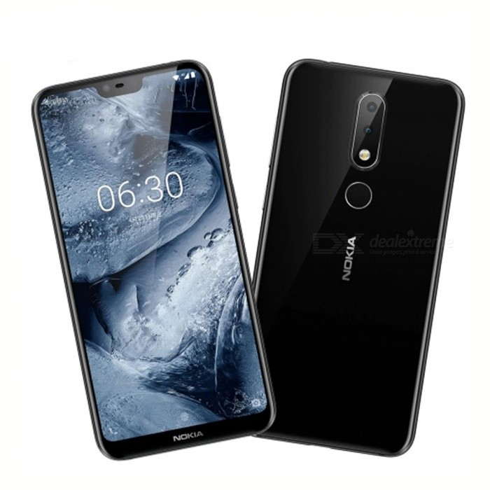 Nokia X6 5.8 Inches Octa-Core Dual SIM Android LTE Smartphone Mobile Phone With 3060mAh Battery, 3 Cameras, Fingerprint White