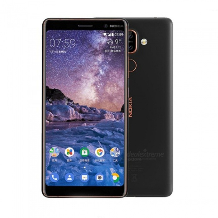 Nokia 7 Plus Android 8 Snapdragon 660 Octa-Core 6.0 Inches 18:9 Screen Mobile Phone With 3800mAh Battery, 6G RAM 64G ROM White