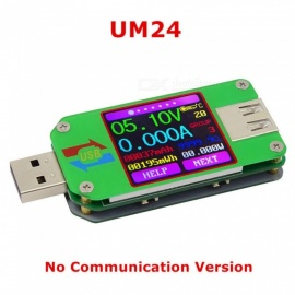 ESAMACT UM24 APP USB 2.0 Type-C LCD Voltmeter Ammeter Voltage Current Meter