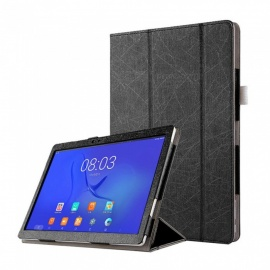 Protective PU Leather Full Body Case w/ Auto Sleep Function for Teclast T20 Tablet - Black