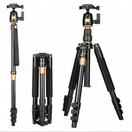 ESAMACT Q555 SLR Camera Tripod Portable Travel Tripod Photography Outdoor Board Buckle Bracket
