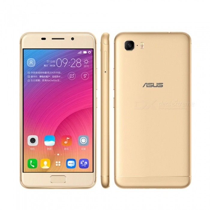 ASUS Zenfone Pegasus 3S Max (ZC521TL) 4G Smartphone With 3GB RAM 64GB ROM, Fingerprint Scanner, 5000mAh Battery Gold