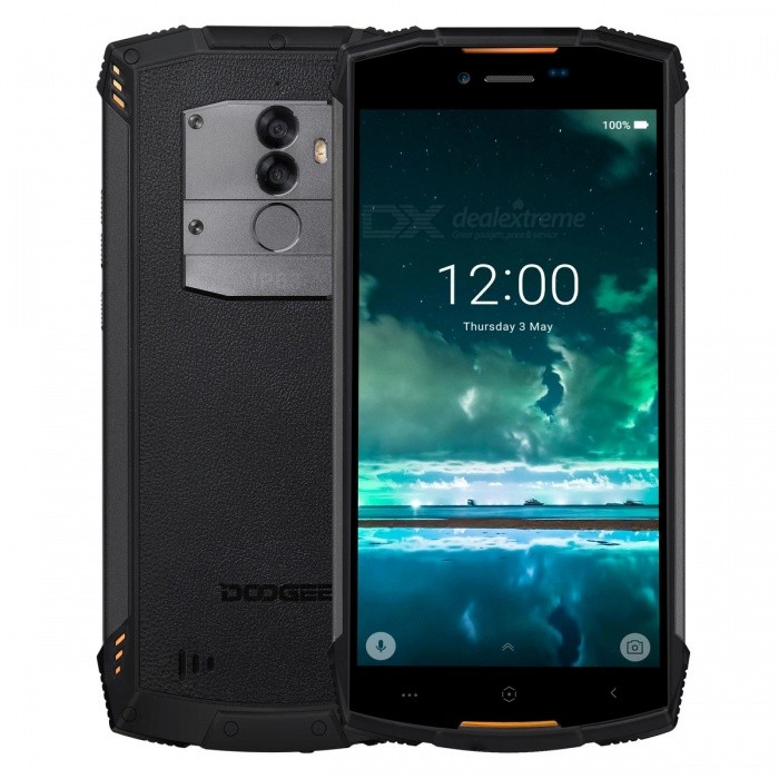 DOOGEE S55 Lite Full Screen IP68 Waterproof 4G Phone w/ 2GB RAM, 16GB ROM