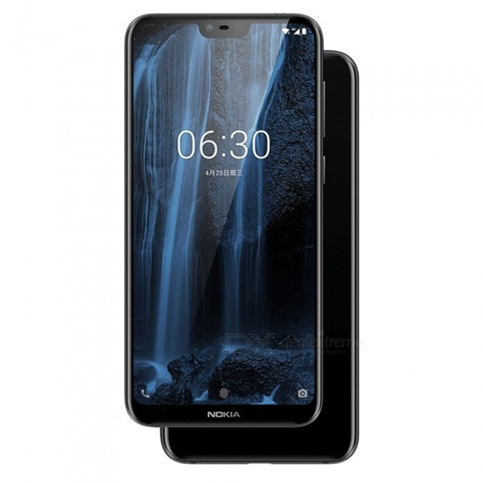 Nokia X6 5.8 Inch Dual SIM Android LTE Smartphone Mobile Phone 6GB+64GB With 3060mAh Battery, 3 Cameras, Fingerprint White