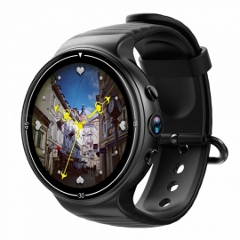 JSBP I8 4G Android 7.1 Smart Watch w/ 1GB 16GB, GPS, WIFI Hotspot,Google Voice,Gesture for Android&IOS Smartphone -Black