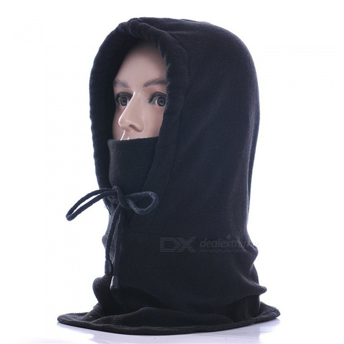 Winter Motorcycle Cycling Face Mask Breathable Windproof Thicken Fleece  Outdoor Sport CS Warm Headgear Pink fa882c2df794