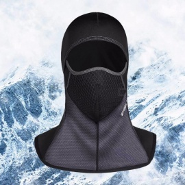 Wheel Up Winter Motorcycle Cycling Face Mask Breathable Windproof Outdoor Sport Warm Headgear Raikage Black