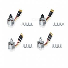 4PCS 2212 920kv Brushless Motor CW CCW Black Sliver Motors Cap No Soldering for F330 F450 F550 X525 Quadcopter Drone