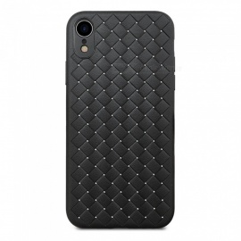 IMOS TPU Woven Air Permeable Protective Case For iPhone XR - Black