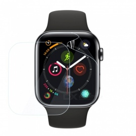 2pcs Explosion-proof TPU Full Cover Screen Protector Film for  iWatch Series 4 44mm