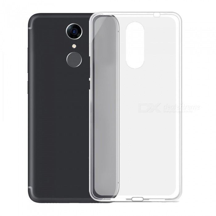 Protective Transparent TPU Back Cover, Soft Case for Cubot Note Plus - Transparent White