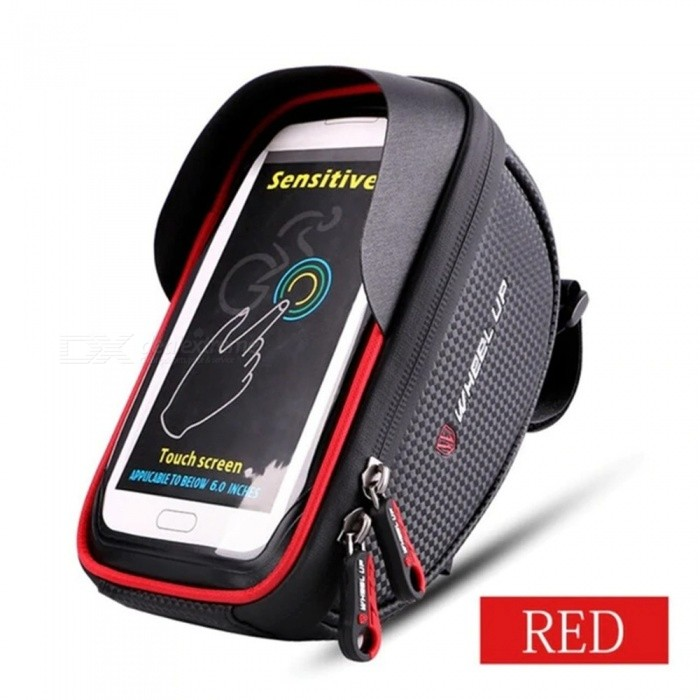 Waterproof | Cellphone | Bicycle | Front | Frame | Road | Bike | Tube | Red | Top | Up