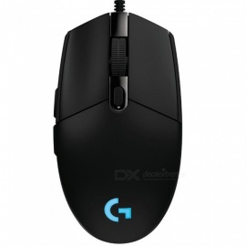 Logitech G102 Wired Mouse, Gaming Laptop Original Optical 200-6000 DPI Gamer Mice, RGB Rechargeable Computer Mouse White