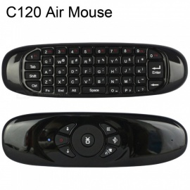 C120 2.4G Fly Air Mouse Wireless Keyboard Remote Control for Android TV Box