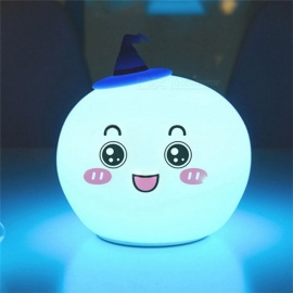 YWXLight USB Halloween Decoration Night Light Creative Silicone Night Light RGB Lamp