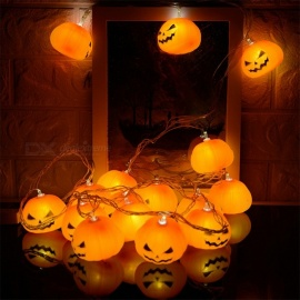 Ywxlight 3M 16LED Interior Decoration Halloween Party Lights Creative Fun Skull Lamp
