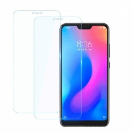 2Pcs 0.26mm 9H Tempered Glass Screen Protector for Xiaomi Mi A2 Lite / Xiaomi Redmi 6 Pro