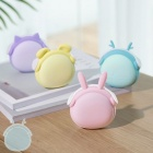 Cute Mini 2-in-1 USB Charging Hand Warmer, 6000mAh Power Bank Phone Charger Set For Girls Sky Blue