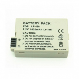 LP-E8 Full Decoding 1020mAh Lithium Battery for Canon Camera