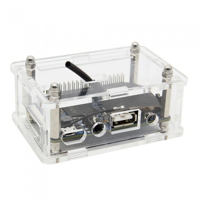 Geekworm Orange Pi 2G-IoT Acrylic Clear Transparent Case Enclosure / Protective Shell for Orange Pi 2G-IoT Motherboard