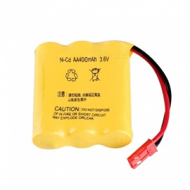 Genuine 3.6V 400mAh Ni-Cd Rechargeable Battery with JST Plug