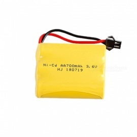 3.6V 700mah 3*AA 1.2V Ni- Cd Rechargeable Battery Pack With SM Plug For RC Boat