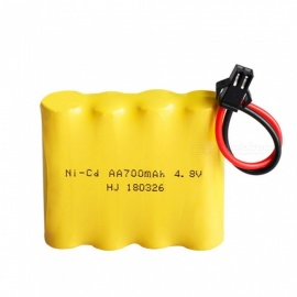 4.8V 700mAh NI-CD Battery with SM Plug for Remote Control Toy