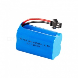 4.8V 1400mah Ni-cd AA Rechargeable Battery Pack With SM Plug For RC Boat Toy