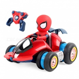 ZHAOYAO Spider-man Remote Control Deformation Stunt Car Magic Wheel Four-wheel Drive Racing Drift Racing Children's Toy Car