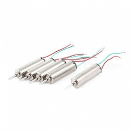 ZHAOYAO 3.7V 66000RPM Coreless Micro DC Motor, 4 x 12mm for Airplane Model