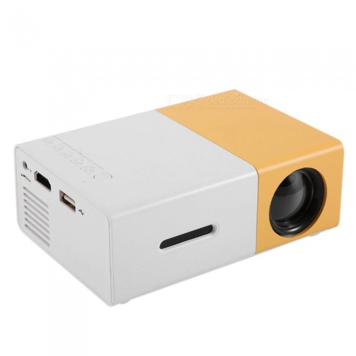 YG300 LCD Projector Full HD 1080P Mini Portable Home Theater Cinema LED Projector EU Plug