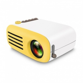 1080P LED Portable Home Mini Theater Projector Pocket Projector YG200 EU Plug