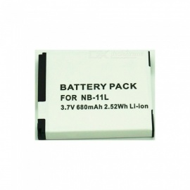 NB-11L Fully Decode 680mAh Lithium Battery for Canon Camera