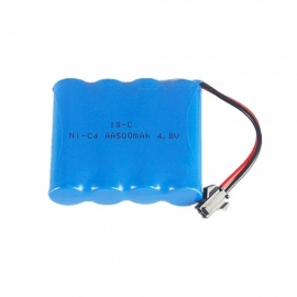 4.8V 500mAh AA Ni-Cd Rechargeable Battery with SM2P Plug