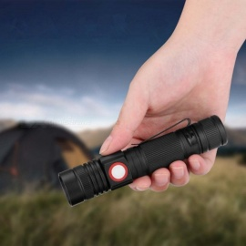 ZHISHUNJIA YH8466 1000Lm Cree XML T6 18650 Zoomable LED Flashlight