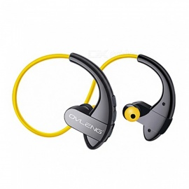 Nano Waterproof Bluetooth 4.2 Headphone, Noise Reduction Stereo Sports Earplugs