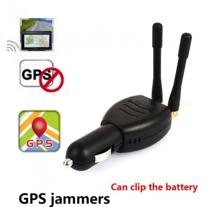 12V Beidou Satellite Signal Jammer, Portable Security GPS Blocker