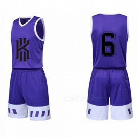 Kobe Bryant James Basketball Sports Jerseys Shorts Set Breathable Quick Dry Training Suit Black/M