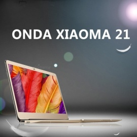 ONDA XIAOMA 21 Intel Apollo Lake N3450 2.2GHz Quad-Core 12.5 Inch IPS Screen Windows 10 Notebook With 4GB RAM 64GB ROM Gold